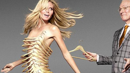 Heidi Klum Undressed to Kill in New 'Project Runway' Promo Pic