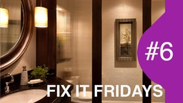 Fix It Friday: From The Laundry To The Loo  Interior Design Bathrooms
