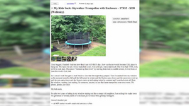 Dad Sells Trampoline Because His