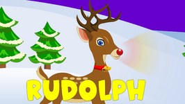 Rudolph The Red Nosed Reindeer Compilation In 6 languages  Christmas songs  World Rhymes