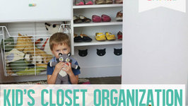 Three Steps to Organizing Your Kids Closet