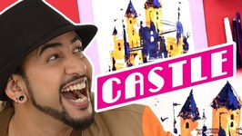 Mad Stuff With Rob  How To Draw A Castle With Cards- DIY Drawing For Children