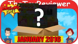 January 2016 Awesome Pack Subscription Box Unboxing Review