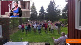 Flash Mob Surprises Terminally Ill Woman