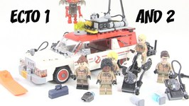 LEGO Ghostbusters The Movie Ecto 1 & 2 Review -LEGO 75828