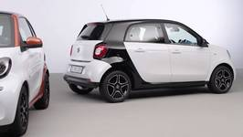 The new smart fortwo and smart forfour - studio