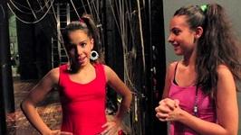 Mickela Visits La Luna Dance Center In Ancona - Italy