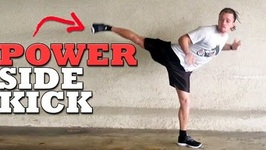 The Most Powerful Kick - Hopping Side Tutorial