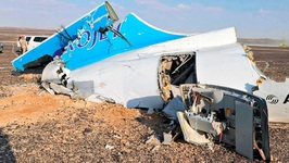 ISIS and Russia Argue Over Metrojet Plane Crash
