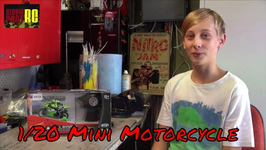 Shenqiwei 1/20 Mini Motorcycle 2.4GHz Moto RTR Review