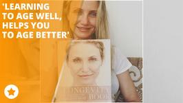 Make up free Cameron Diaz is all about aging better