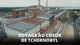 Visite arienne des ruines de Tchernobyl