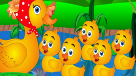 Five Little Ducks Went Out One Day - Nursery Rhymes