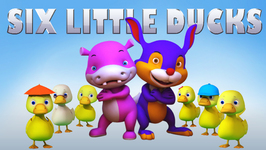 Six Little Ducks  Popular Children's Song