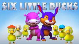 Six Little Ducks  Popular Children's Song