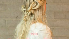 Easy Boho Rope Braid Hair Tutorial