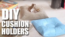 Mad Stuff With Rob - How To Make DIY Cushion Holders- Room Decor Ideas
