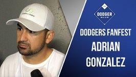 Dodgers 2016 FanFest: Adrian Gonzalez On Dave Roberts