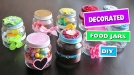 Diy Decorated Baby Food Jar Ideas