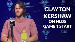 Clayton Kershaw On NLDS Game 1 Start