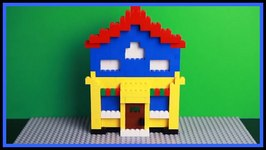 Build a Lego House And Learn Colors With Tom The Builder  Children's Educational Toy Videos