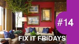 Interior Design  Family Room Makeover  Fix It Friday 14