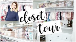Twin Girls Closet Tour