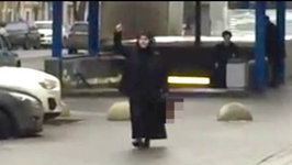Video Shows Woman Carrying Childs Severed Head in Moscow