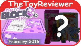 February 2016 Nerd Block Jr. Girl's Toy Subscription Box Unboxing Review