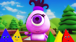 The Shape Triangle - Monster Family Colors and Shapes