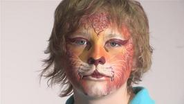 How To Do Lion Face Paint