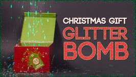 How to Make a Christmas Glitter Bomb
