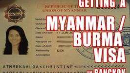 How to Get a Myanmar Visa in Bangkok Thailand