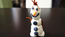 Here Is Olaf Play Dough
