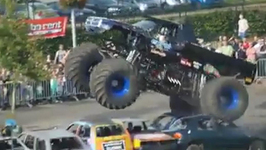 Three Killed as Monster Truck Crashes into Crowd