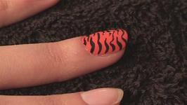 How To Paint Your Nails Like A Tiger