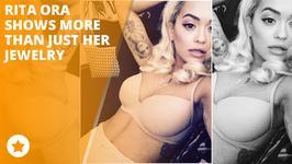 Rita Ora treats fans to racy snap