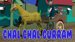 Chal Chal Gurram 3D And Many More  1 Hour  Compilation 36 Telugu Rhymes collection For Children