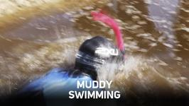 Competitive swimming in muddy trenches 'a must do'?