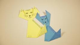Origami Kitty