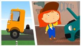 Doc McWheelie  Cartoon Car Doctor - Tow Truck Breakdown - Car Repairs Kid's Cartoons