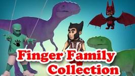 Funny Finger Family Collection  Dinosaur Finger Family  Funny Spider Family  Red Minion Family