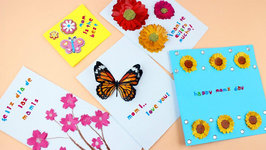 How to make Layered Paper Mother's Day Cards