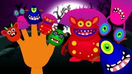 Finger Family  Monster Finger Family Nursery Rhyme  Halloween song