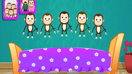 5 Little Monkeys Jumping