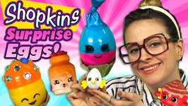 Shopkins Surprise Eggs Craft - June Balloon - Mushy Moo, Egg Chic - Arts and Crafts with Crafty Carol