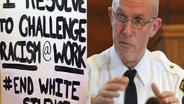 Police Chief Criticized for Anti-Racism Sign
