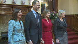Spain's King Felipe VI visits The Netherlands