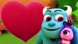 The Shape Heart - Monster Family Colors and Shapes