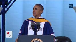 President Obama Delivers Commencement Address At Howard University